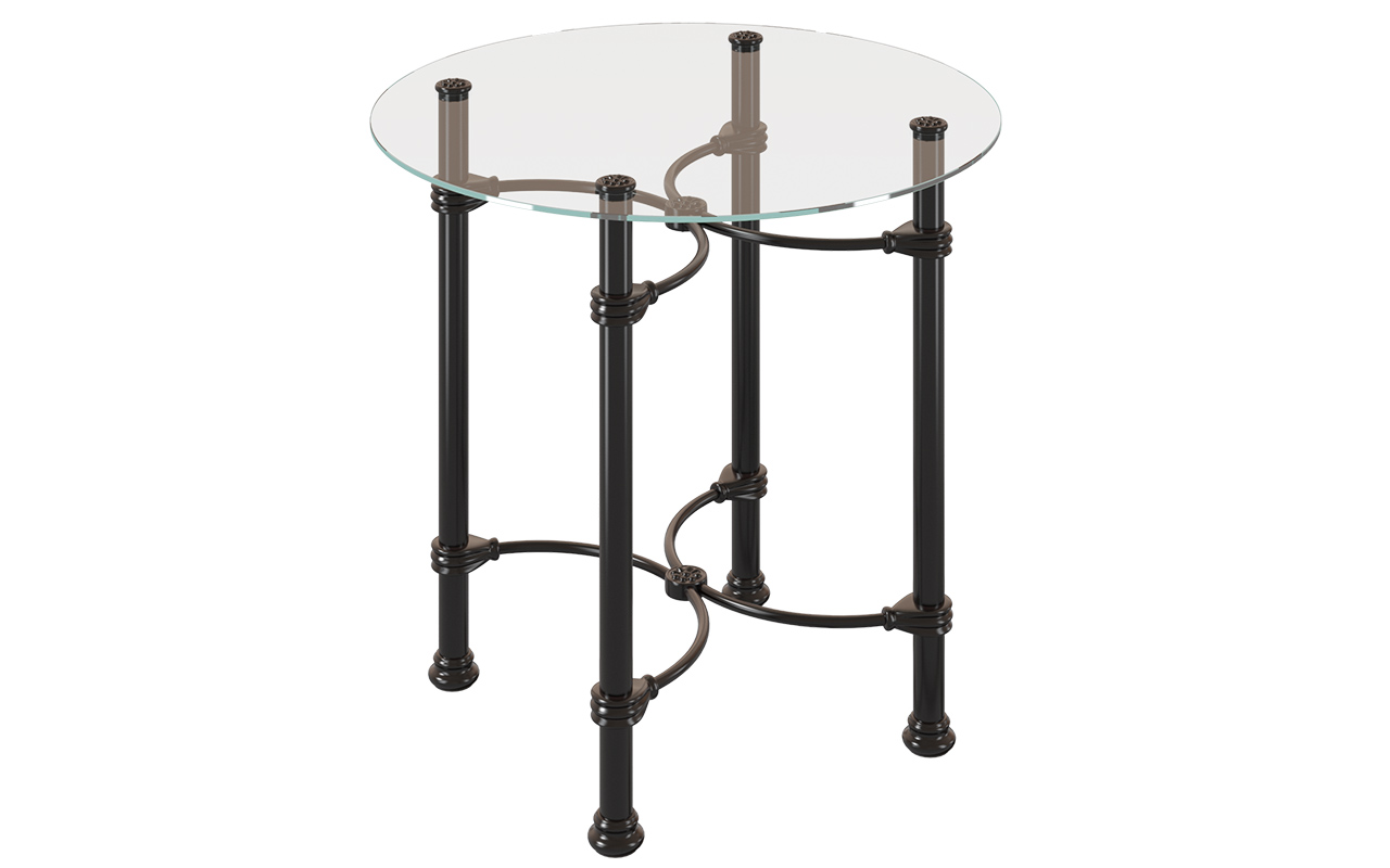 ТУМБОЧКИ ИЗ МЕТАЛЛА DREAMLINE SIDE TABLE 140 КРУГЛАЯ 1