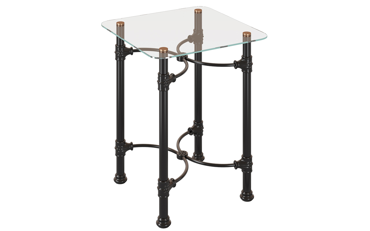 ТУМБОЧКИ ИЗ МЕТАЛЛА DREAMLINE SIDE TABLE 132 КВАДРАТНАЯ 1